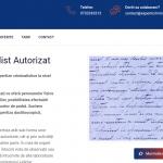 website de prezentare pentru experti criminalisti